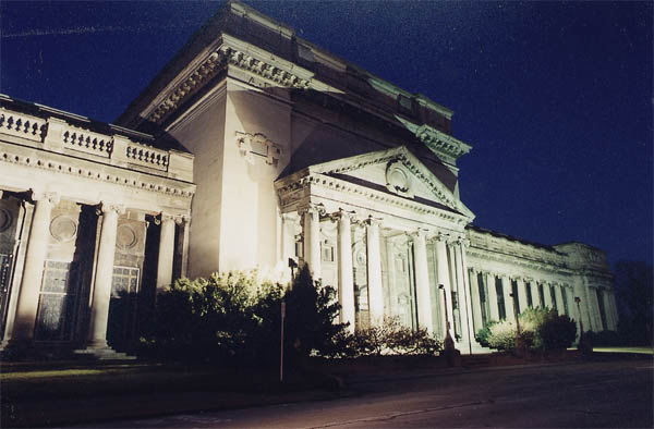 Niagara Hydro Electric Plant Building - January 08 - 2000